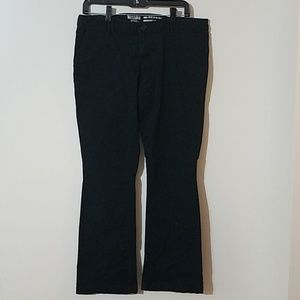 Black uniform/school pant